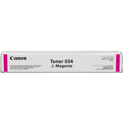 Canon - Canon C-EXV-034 Kırmızı Orjinal Fotokopi Toneri