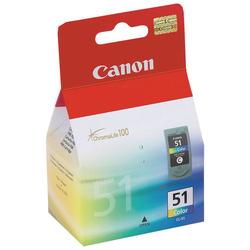 Canon - Canon CL-51 Orjinal Renkli Kartuş