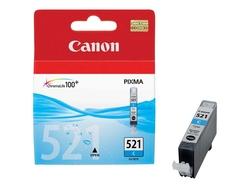 Canon - Canon CLI-521 Mavi Orjinal Kartuş