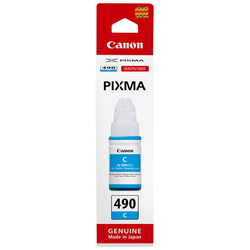 Canon - Canon GI-490 Mavi Orjinal Mürekkep