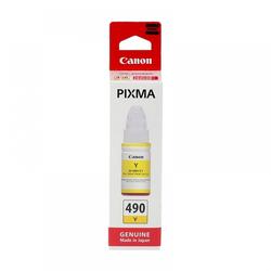 Canon - Canon GI-490 Sarı Orjinal Mürekkep