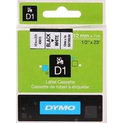 - Dymo D1 Yedek Serit 12 Mm X 7 M Renk - Beyaz/Siyah