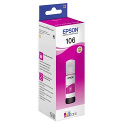 Epson - Epson 106-C13T00R340 Kırmızı Orjinal Mürekkep