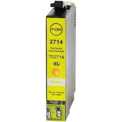 Epson - Epson 27XL-T2714-C13T27144020 Sarı Muadil Kartuş Yüksek Kapasiteli