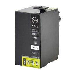 Epson - Epson 27XXL-T2791-C13T27914020 Siyah Muadil Kartuş Extra Yüksek Kapasiteli