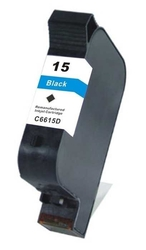 Hp - Hp 15-C6615D Siyah Sıfır Muadil Kartuş