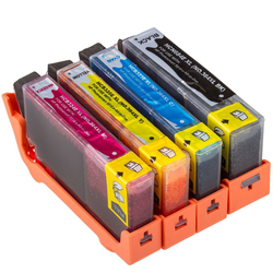 Hp - Hp 364XL-CB325E Sarı Muadil Kartuş