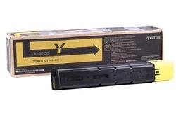 Kyocera - Kyocera TK-8705 Sarı Orjinal Fotokopi Toneri
