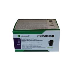 Lexmark - Lexmark C2425-C2350K0 Siyah Orjinal Toner