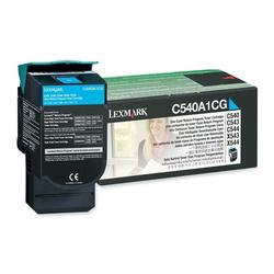 Lexmark - Lexmark C540-C540A1CG Mavi Orjinal Toner