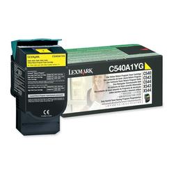 Lexmark - Lexmark C540-C540A1YG Sarı Orjinal Toner