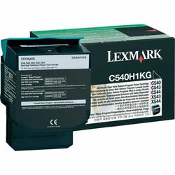 Lexmark - Lexmark C540-C540H1KG Siyah Orjinal Toner Yüksek Kapasiteli