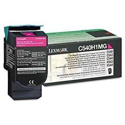 Lexmark - Lexmark C540-C540H1MG Kırmızı Orjinal Toner Yüksek Kapasiteli