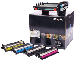 Lexmark - Lexmark C540-C540X74G Siyah Ve Renkli Orjinal Drum Kiti