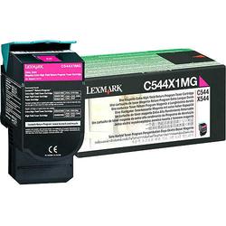 Lexmark - Lexmark C544-C544X1MG Kırmızı Orjinal Toner Extra Yüksek Kapasiteli