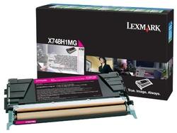 Lexmark - Lexmark X748-X748H1MG Kırmızı Orjinal Toner Yüksek Kapasiteli
