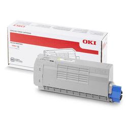 Oki - Oki C712-46507625 Sarı Orjinal Toner