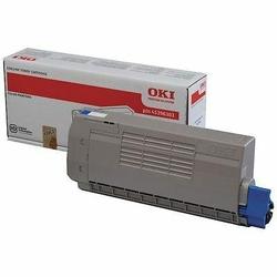 Oki - Oki C823-46471107 Mavi Orjinal Toner