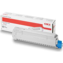 Oki - Oki MC860-44059227 Mavi Orjinal Toner