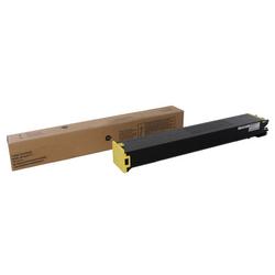 Sharp - Sharp MX-60GTYA Sarı Muadil Fotokopi Toneri
