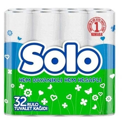Bigpoint - Solo Tuvalet Kağıdı Parfümlü 32'li Paket