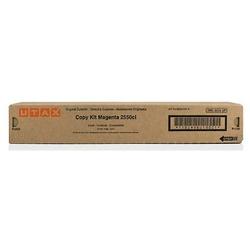 11 - Utax 2550ci -662510114 Kırmızı Orjinal Toneri