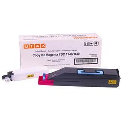 11 - Utax CDC-1725 Kırmızı Orjinal Fotokopi Toner