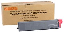 11 - Utax CLP-3416 Kırmızı Orjinal Fotokopi Toner