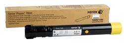 Xerox - Xerox Phaser 7800-106R01572 Sarı Orjinal Toner Yüksek Kapasiteli